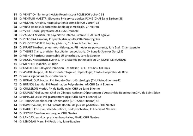 Liste des 1044 19