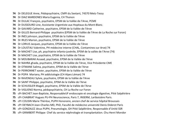 Liste des 1044 30