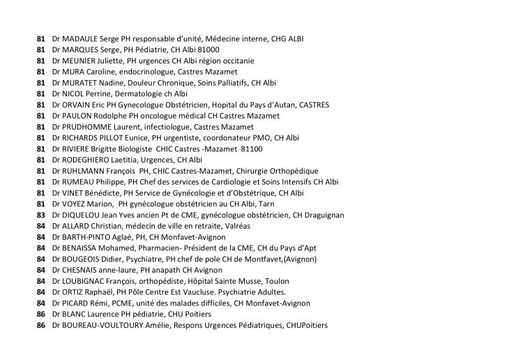 Liste des 1044 34